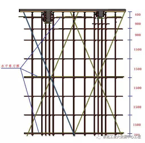 高支模施工方案,附中建二局可视化技术交底_12