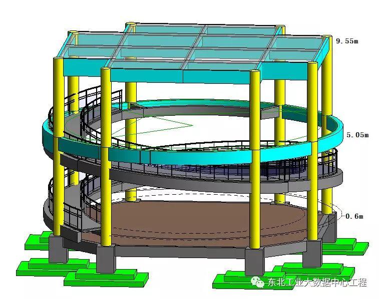 高支模施工方案,附中建二局可视化技术交底_7