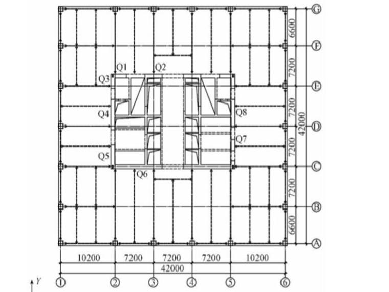 再生资源交易所项目超高层结构设计