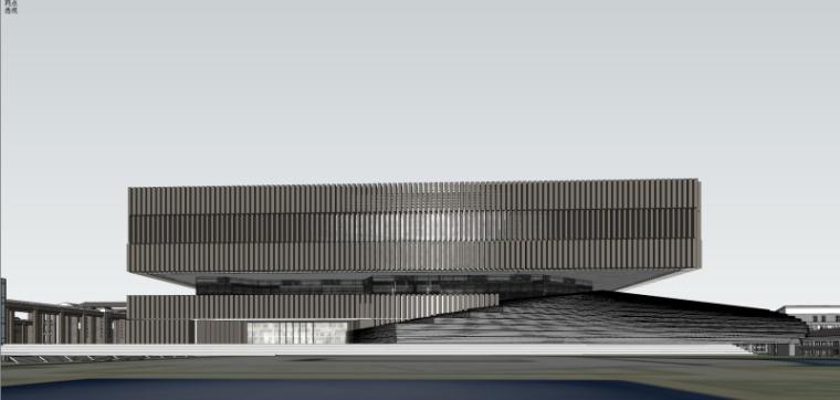 [山西]大学东山校区规划建筑模型设计-山西大学东山校区规划投标方案 哈工建院 (21)