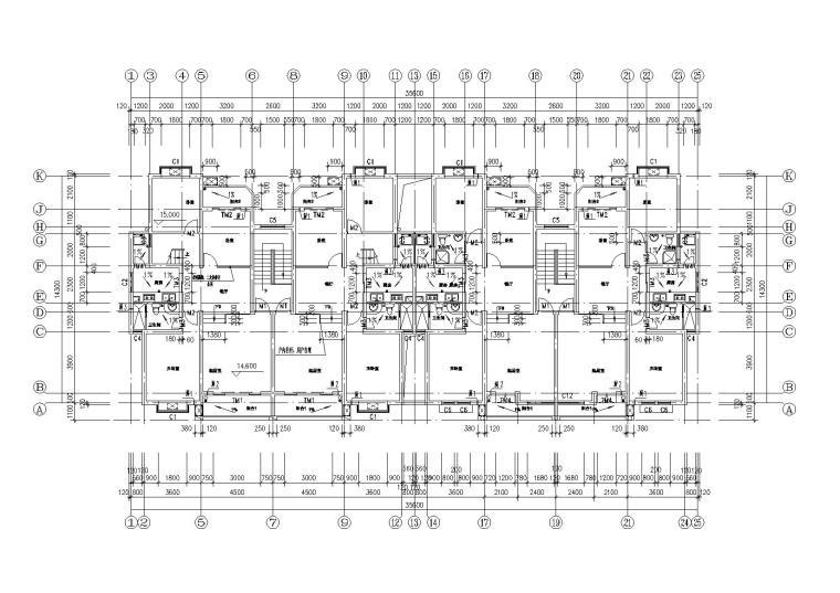 06六层平面图