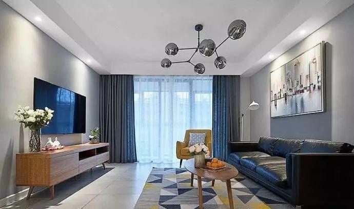 100㎡北欧风格家居装修设计案例清新文艺