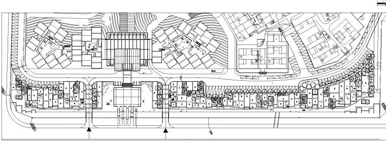 [内蒙古]青城居住区景观CAD施工图-土人