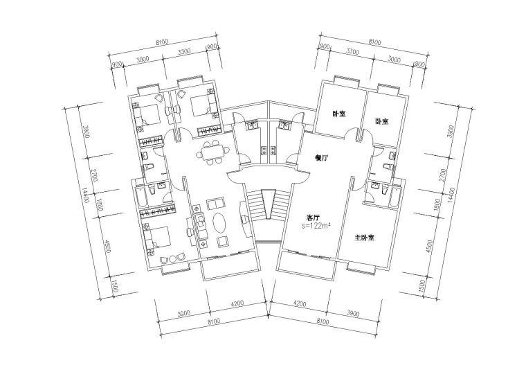 户型平面图(4)