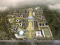 [山西]大学东山校区规划建筑模型设计
