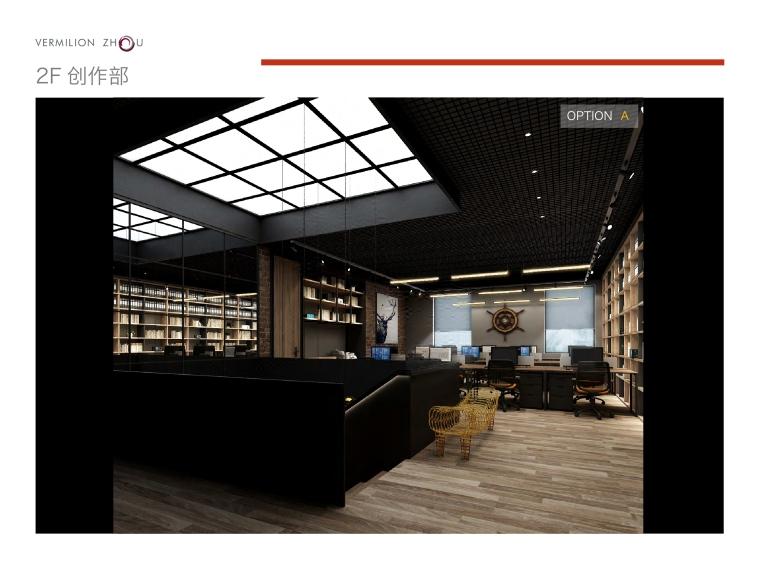 [上海]华谊兄弟办公室设计施工图+设计方案-18