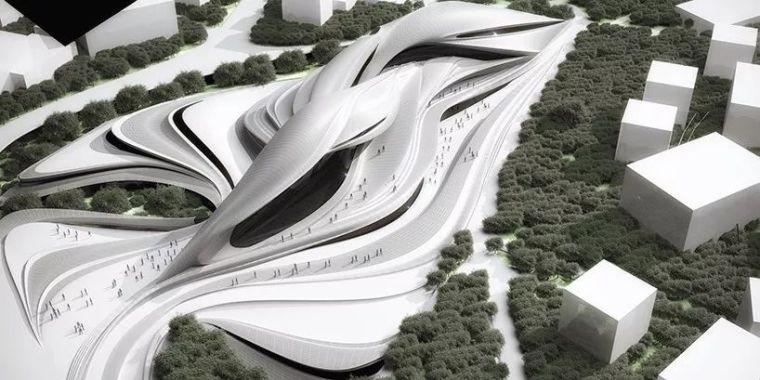 流动的曲线|土耳其飞机和汽车博物馆_1