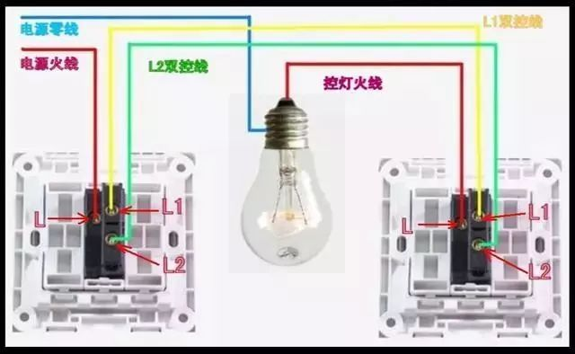 电气的各种开关接线图,你都清楚吗?