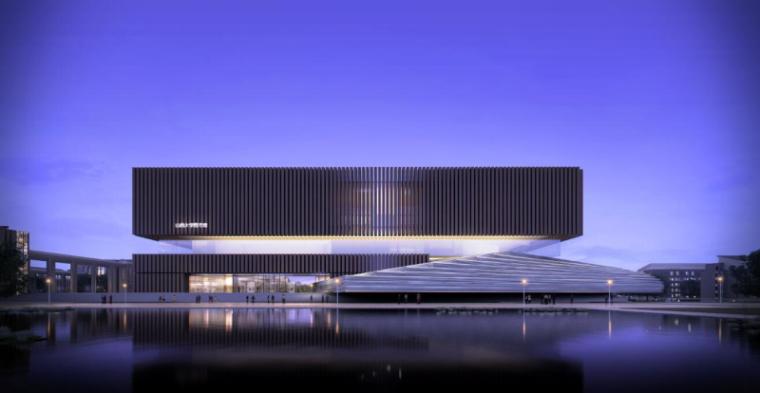 [山西]大学东山校区规划建筑模型设计-山西大学东山校区规划投标方案 哈工建院 (7)