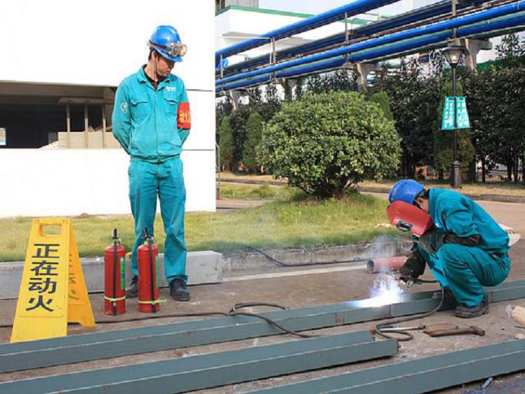 61焊接、切割、烘烤或加热等动火作业