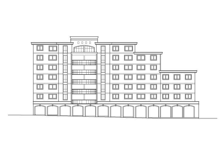 阳光城住宅区建筑设计施工图
