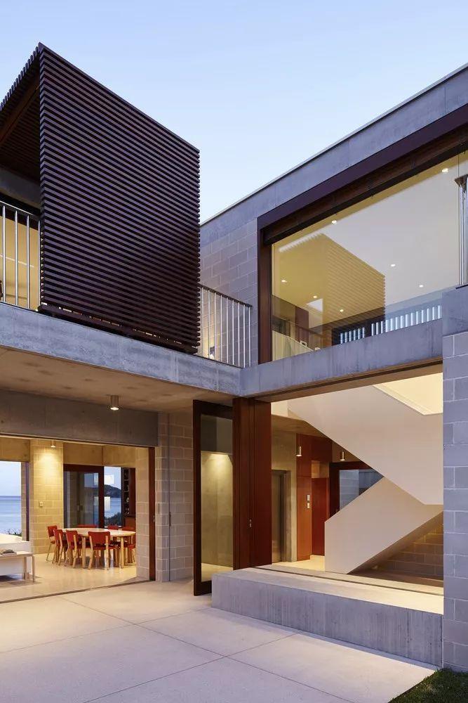 澳大利亚几何框架别墅_7