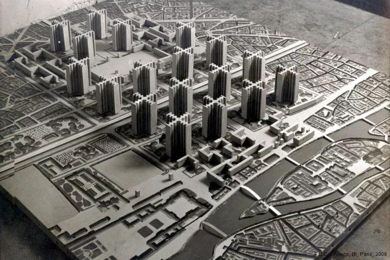 建筑制图|改变我们对城市看法的10张总体_6