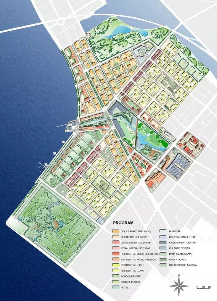 建筑制图|改变我们对城市看法的10张总体_11