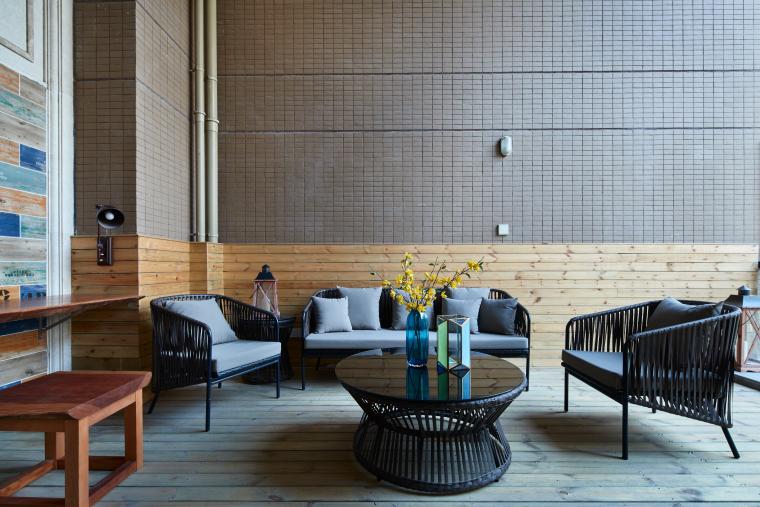 水景城四居室样板房室内装修施工图+效果图-good12