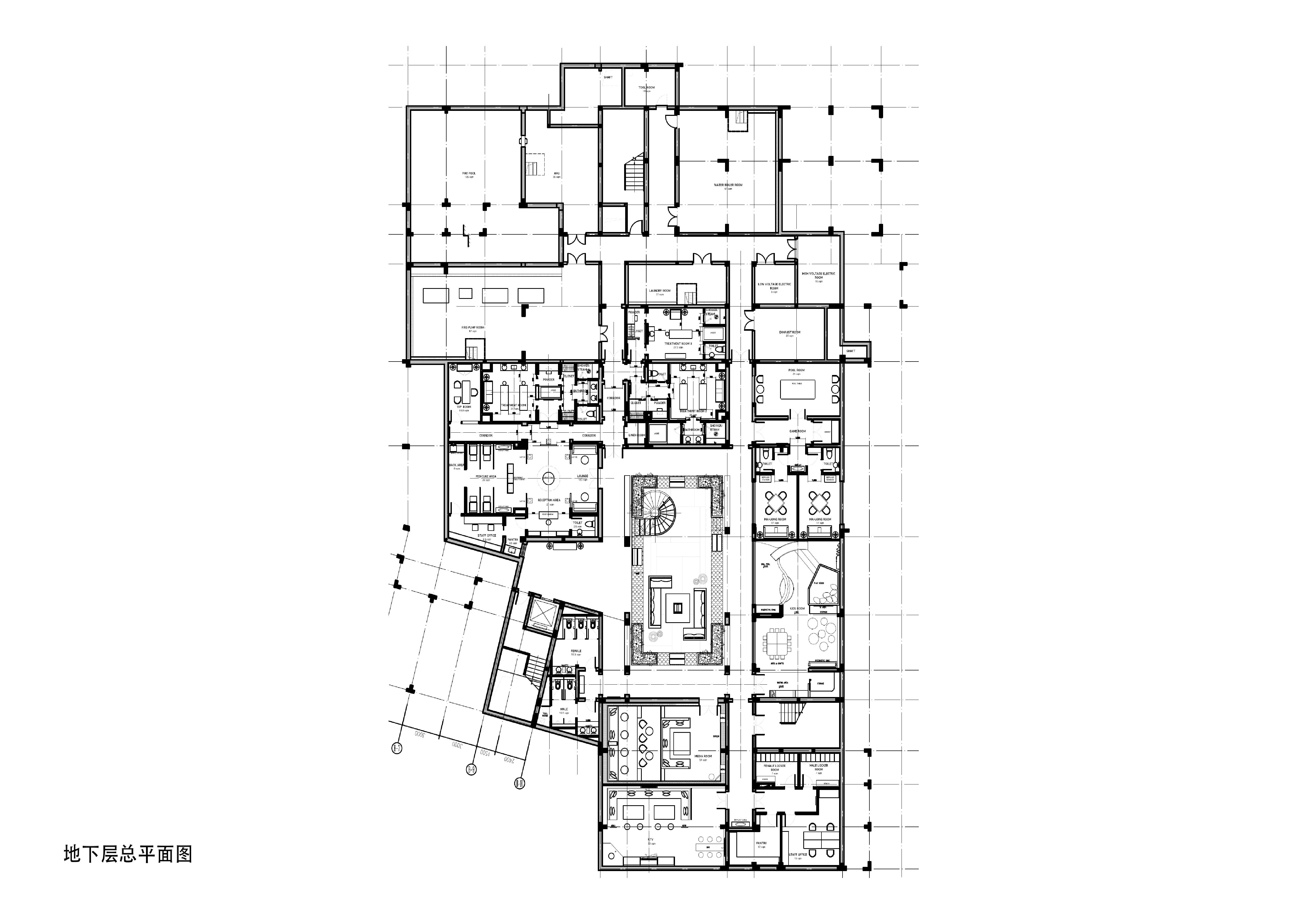 周庄花间堂酒店设计方案+效果图+cad平面图片