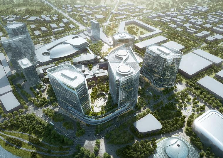北京颐堤港城市综合体联合办公项目规划方案