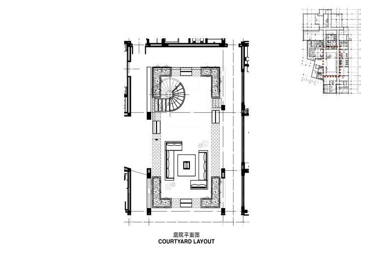 周庄花间堂酒店设计方案+效果图+CAD平面-38