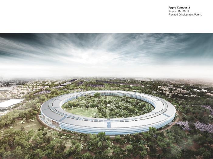 苹果新总部建筑设计(分析图参考)