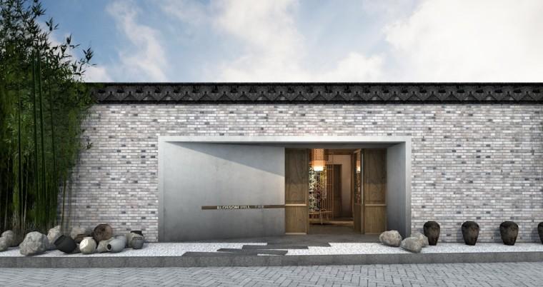 周庄花间堂酒店设计方案+效果图+CAD平面-效果图 (1)