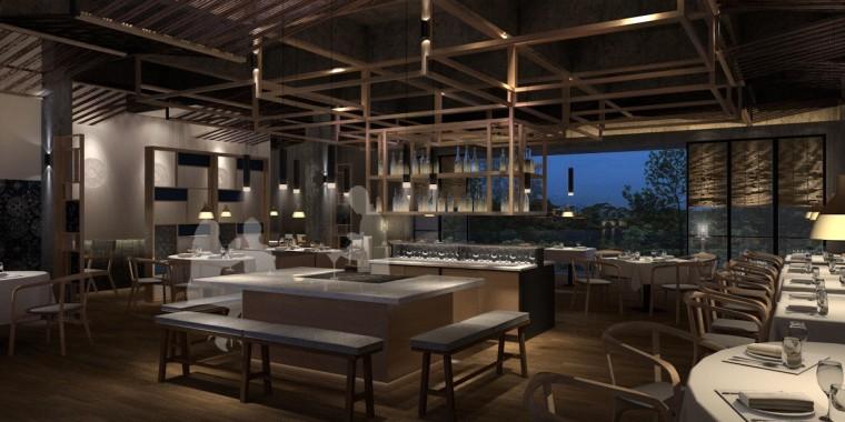 周庄花间堂酒店设计方案+效果图+CAD平面-效果图 (5)