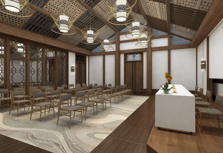 周庄花间堂酒店设计方案+效果图+CAD平面-效果图 (9)
