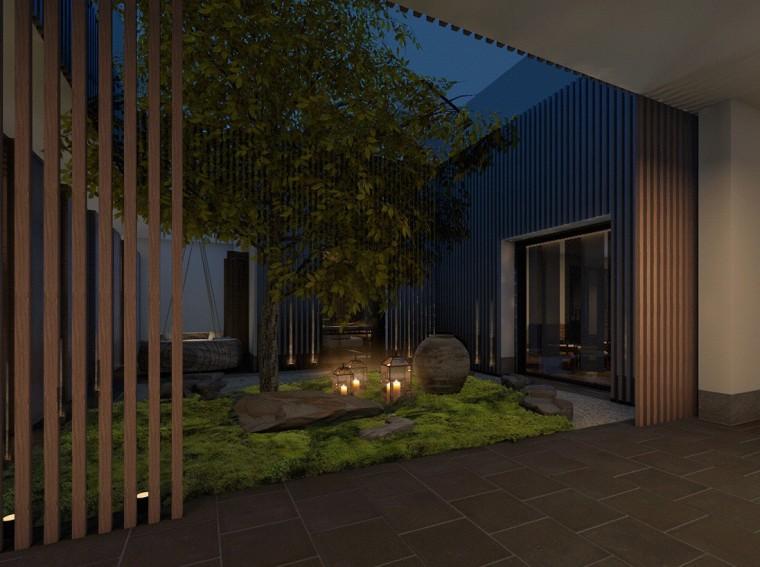 周庄花间堂酒店设计方案+效果图+CAD平面-效果图 (8)