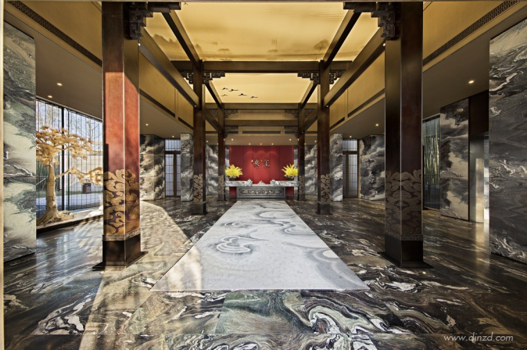 上海建发央玺售楼处两套样板间软装设计方案