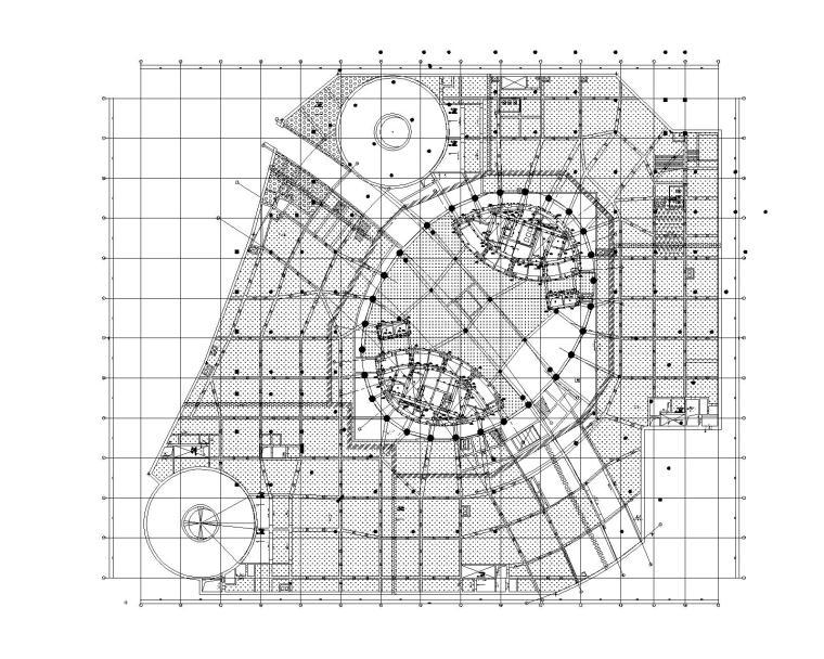 地下三层核心筒结构详图