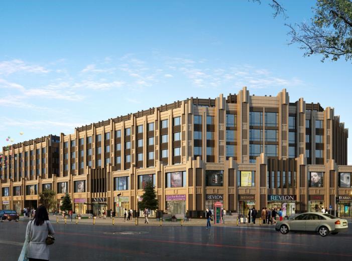 [江苏]海门邻里中心社区商业体规划设计文本-效果图1
