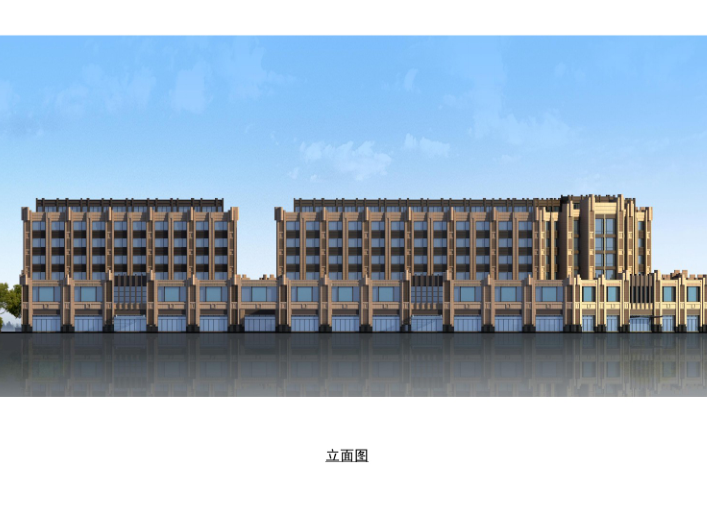 [江苏]海门邻里中心社区商业体规划设计文本-立面图