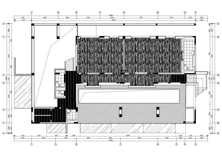 东仓建设-时代天荟会所摄影+CAD全套施工图