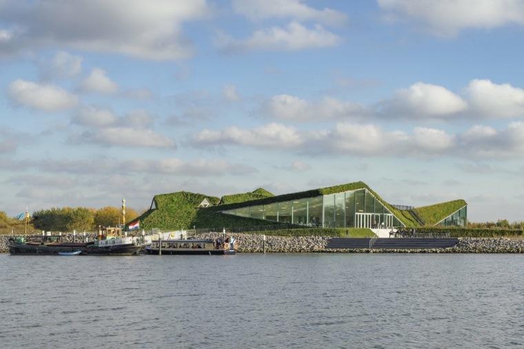 荷兰Biesbosch博物馆岛-SMV_View_Exterior_01_©Ronald_Tilleman_MR