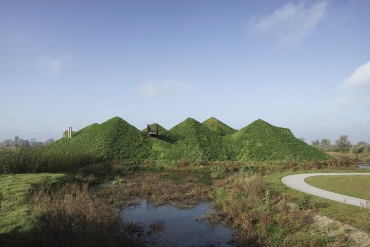 荷兰Biesbosch博物馆岛-SMV_View_Exterior_05_©Ronald_Tilleman_MR