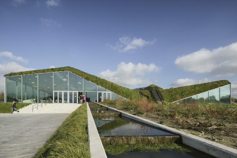 荷兰Biesbosch博物馆岛-SMV_View_Exterior_08_©Ronald_Tilleman_MR