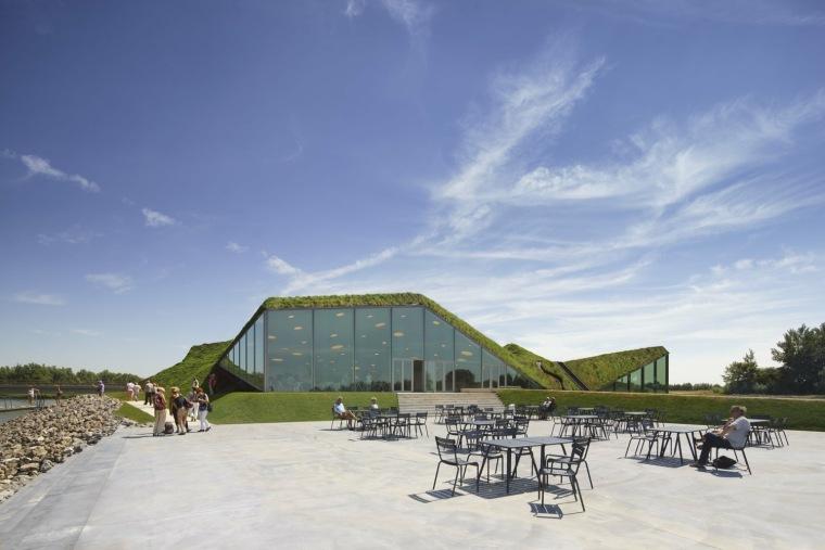 荷兰Biesbosch博物馆岛-SMV_View_Exterior_07_©Ronald_Tilleman_MR