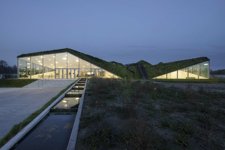 荷兰Biesbosch博物馆岛-SMV_View_Exterior_12_©Ronald_Tilleman_MR