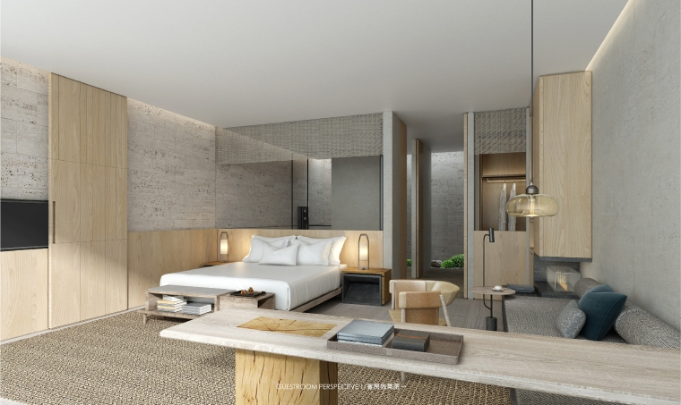 CCD-苏州太湖阿丽拉度假酒店客房设计方案