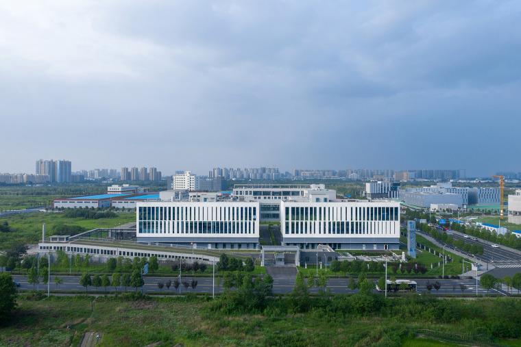 7天最热丨建筑周精选案例(8月19日~25日)-51-the-first-stage-production-base-of-chengdu-chipscreen-medicine-industry-china-yuanism-architects-cpidi