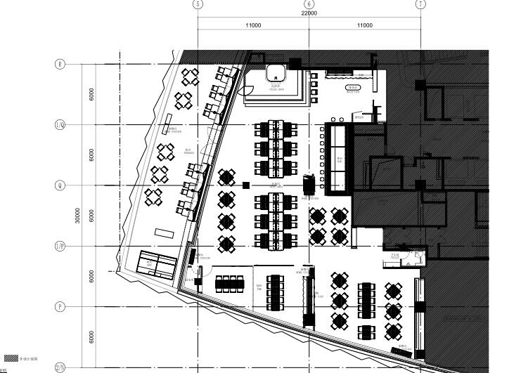 广州Mercato莫卡多露台餐厅与酒吧施工图