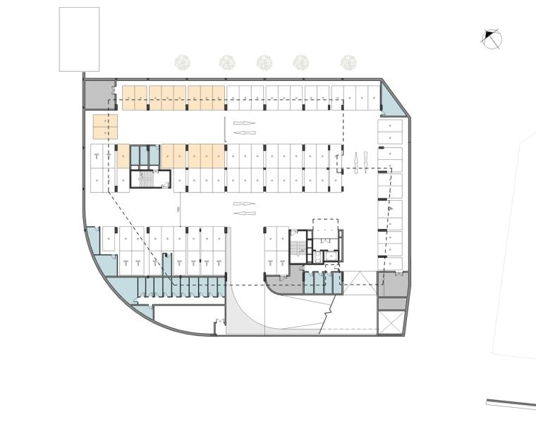 南非Axis大楼-02_dhk_Axis_plans_level_-1