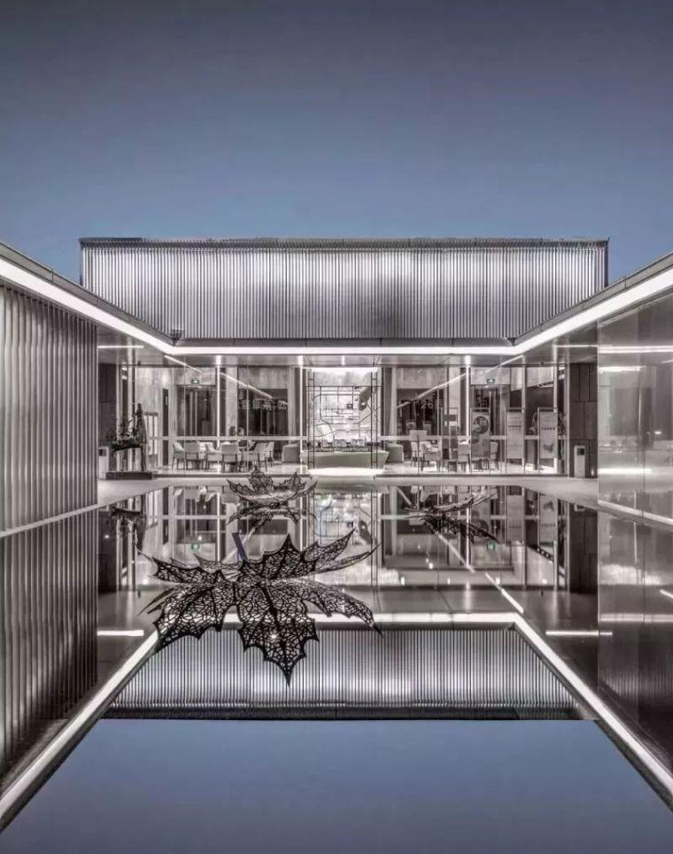 860㎡以中式合院的布局为灵感,打造东方_1