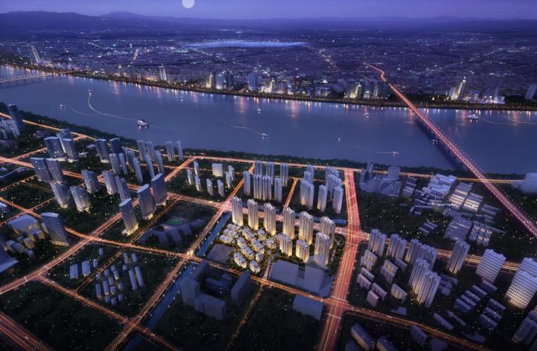[浙江]金茂府新古典居住区建筑模型设计
