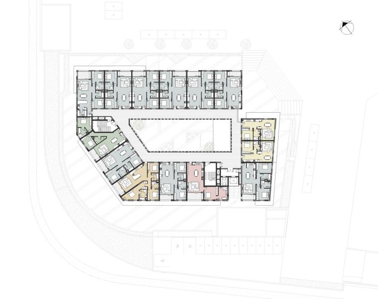 南非Axis大楼-04_dhk_Axis_plans_level_1