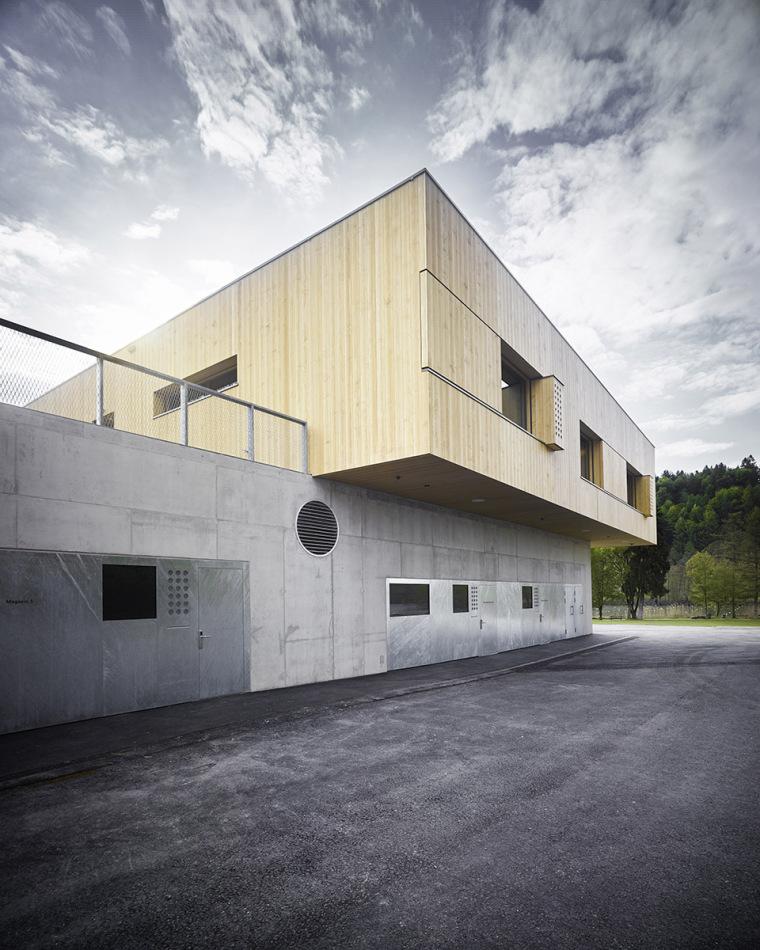 瑞士Rotsee湖赛艇中心-001-Rowing-Center-Lake-Rotsee-by-AFGH-Architects