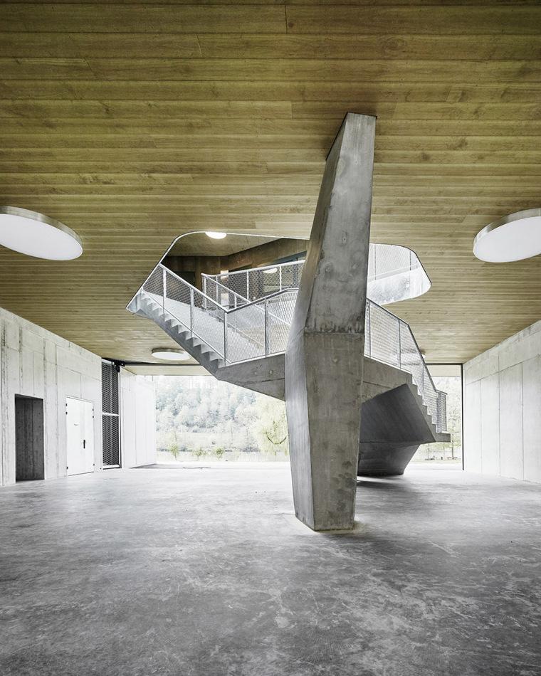 瑞士Rotsee湖赛艇中心-002-Rowing-Center-Lake-Rotsee-by-AFGH-Architects