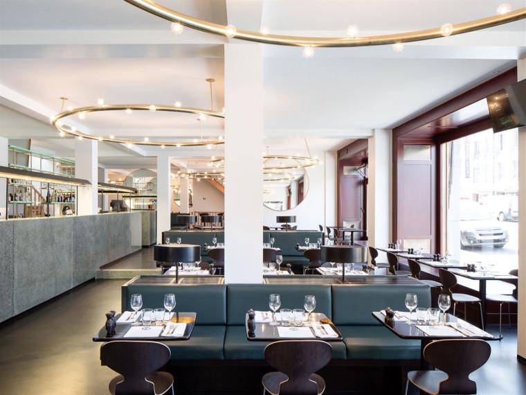 布鲁塞尔维克多·博扎尔·卡夫咖啡馆餐厅