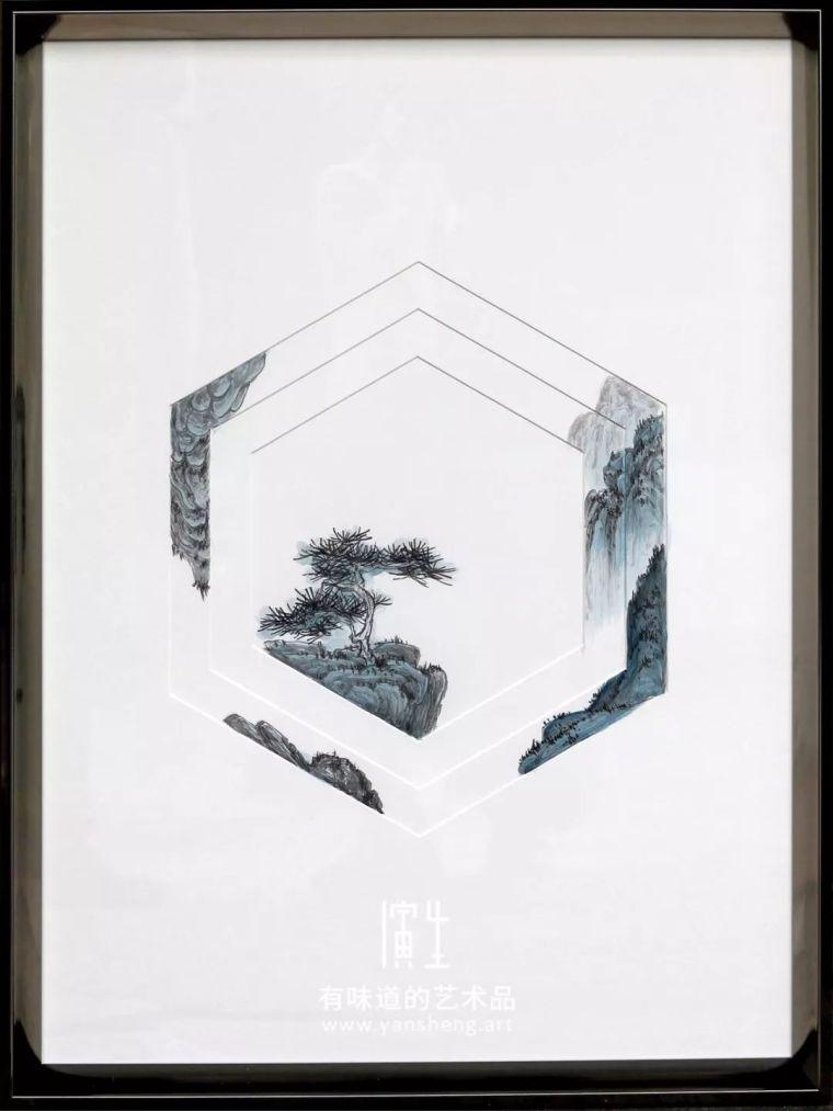纸艺实物画室内设计艺术装饰画图片素材_9