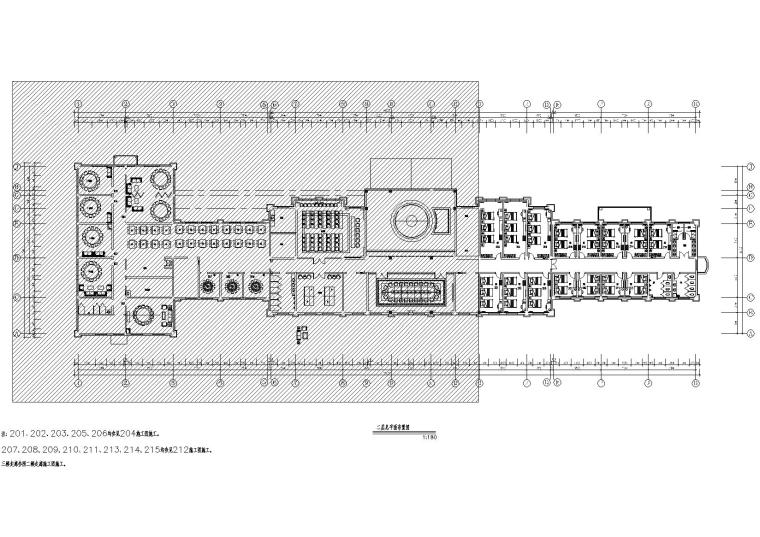 [黑龙江]日月峡服务区综合楼施工图+效果图