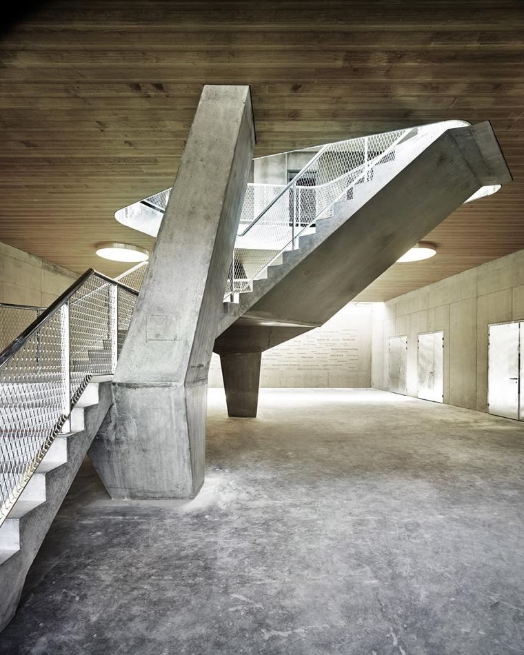 瑞士Rotsee湖赛艇中心-007-Rowing-Center-Lake-Rotsee-by-AFGH-Architects